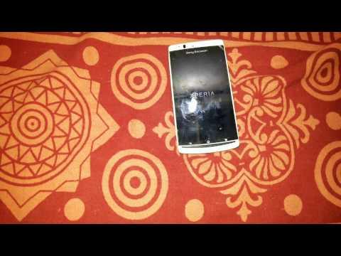 Sony Ericsson xperia Arc S LT18i hard reset