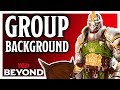 What are 'Group Backgrounds' in D&D? [Eberron: Rising from the Last War]