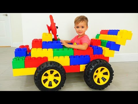 Vlad and Nikita pretend play with Toy Cars - Collection video for kids
