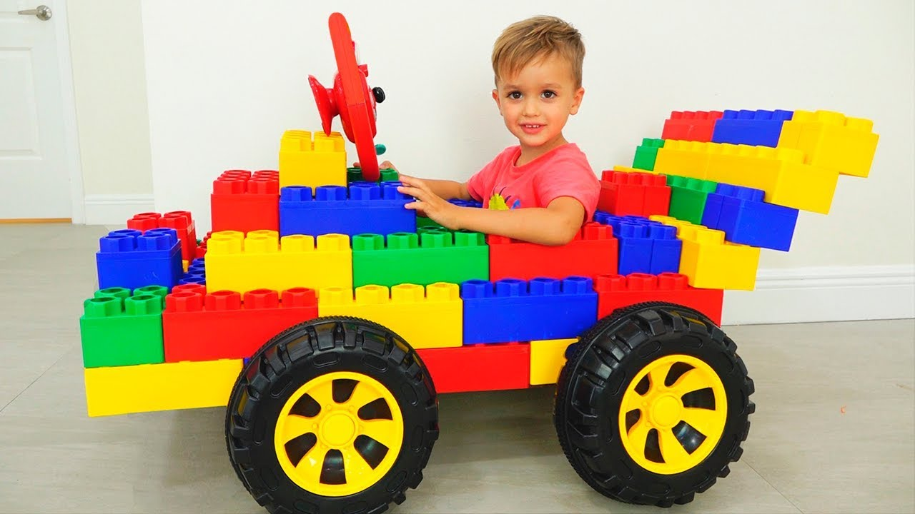 Vlad And Nikita Play With Toy Cars Collection Video For