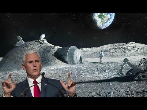На Луне кто-то есть? НОВАЯ ЛУННАЯ ГОНКА - Россия, США, Китай и другие очень хотят на Луну