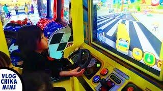 Asiknya Bermain Game Mobil Bus Timezone Lagu Anak The Wheels On The Buss Kids Song