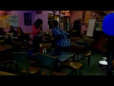 Karaoke night at El Rinconcito