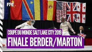 CdM SD Salt Lake City - Finale Berder (FRA) vs Marton (HUN)