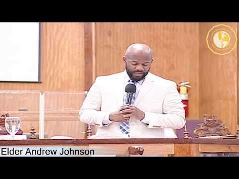 COGTB PRESENTS THE 46TH CHURCH ANNIVERSARY - Elder Andrew Johnson