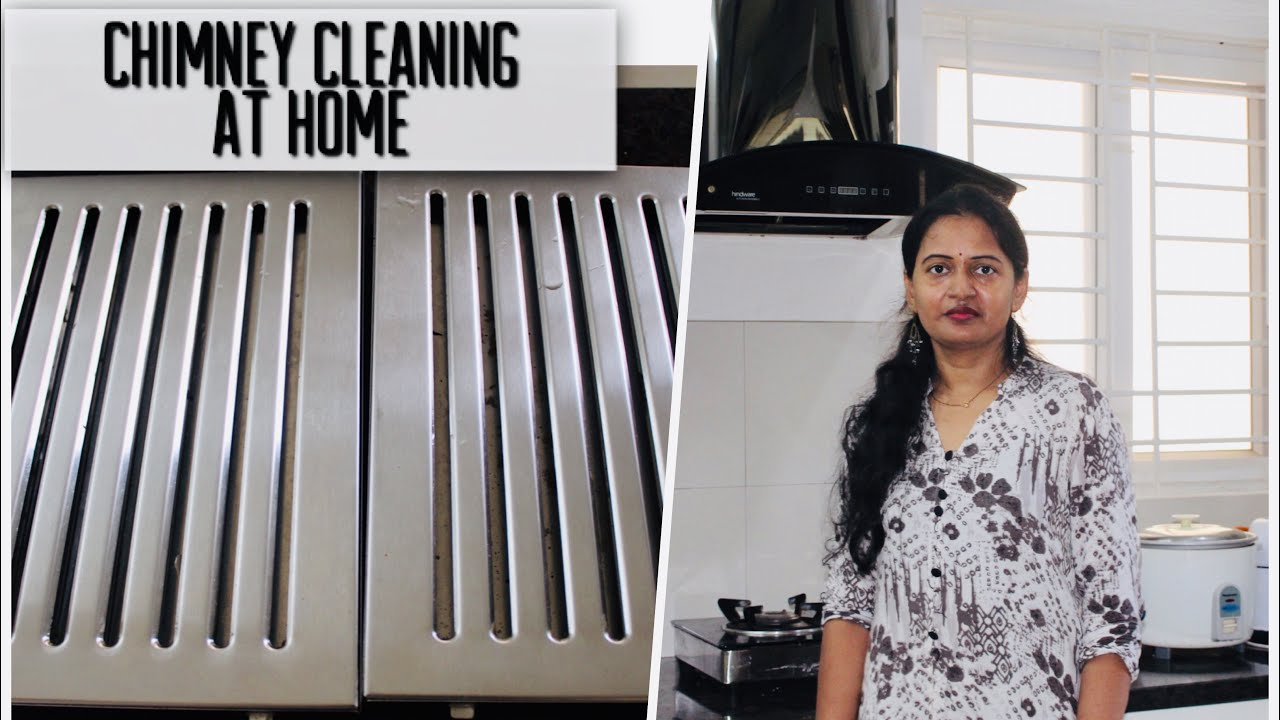 Chimney Cleaning with Baking Soda at home   Chimney Cleaning in telugu   myself sailaja
