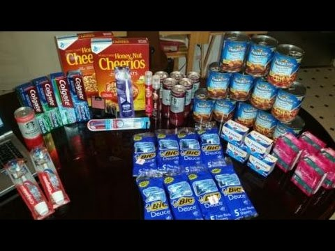 My CVS, Dollar Tree, and Family Dollar Couponing Haul (9/20/15)