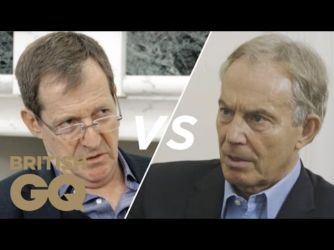 Alastair Campbell vs Tony Blair: Will Corbyn Become Prime Minister? | GQ Politics | British GQ
