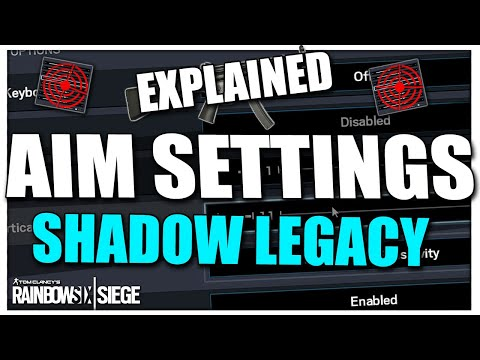 The New ADS Sensitivity Settings & Aim Tips in Shadow Legacy (New Way To Get 1:1)