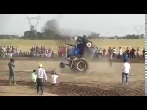 Tractor Stunt, First Time Seen In Punjab (India), Viral Video