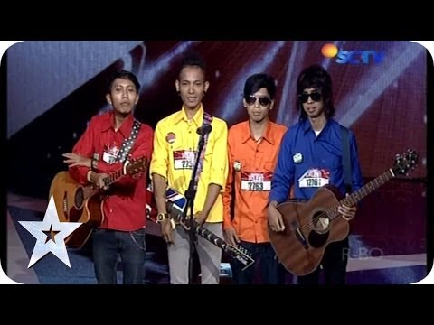 Hilarious Band get Fun with the Judges - Go Block-S - Audition 1 - Indonesia's Got Talent