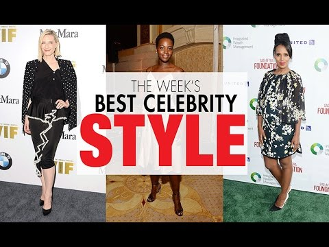 Lupita Nyong'o, Kerry Washington, Cate Blanchett in the week's best celebrity style