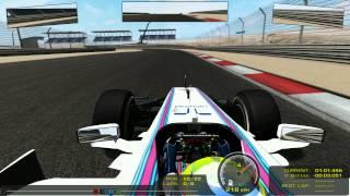 rFactor F1 2014 MOD WILLIAMS MARTINI RACING KEYBOARD by GG R
