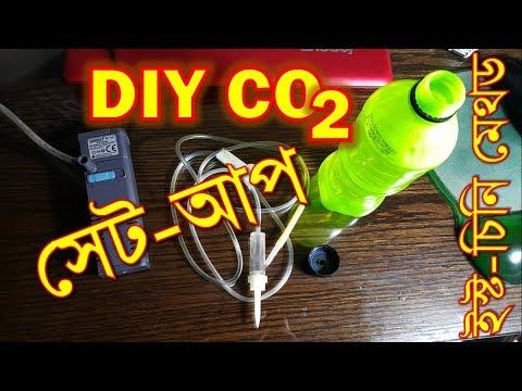 DIY CO2 for planted tank (ইস্ট-চিনি দিয়ে DIY CO2)