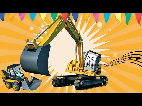 Digger Songs For Children | Toddler Fun Learning