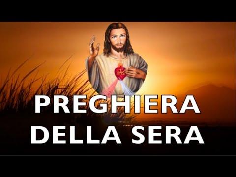 Preghiera Della Sera Al Sacro Cuore Di Gesù