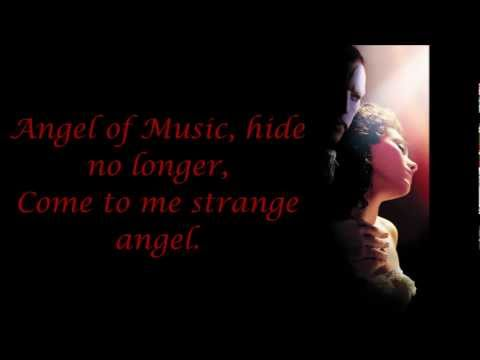 The Mirror (Angel of Music) Phantom of the Opera Lyrics