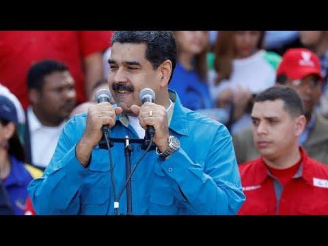 فنزويلا تقدم موعد إجراء الانتخابات الرئاسية ومادورو يعلن امكانية ترشحه…  - نشر قبل 2 ساعة