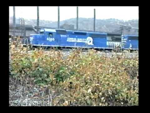 Conrail - The West Slope - Part 1 of 6