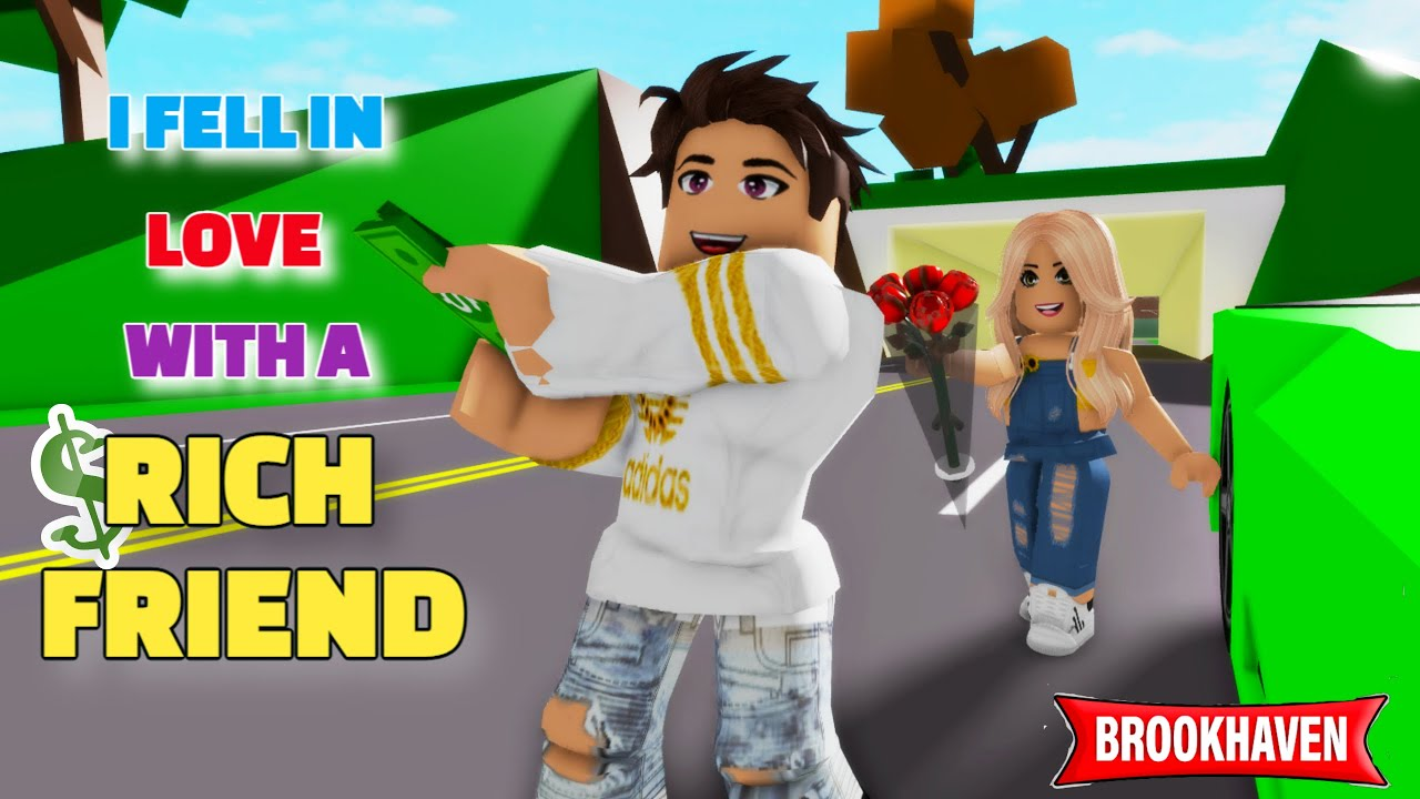 Download I FELL IN LOVE WITH A RICH FRIEND....!!! || Brookhaven Mini Movie (VOICED) || CoxoSparkle2