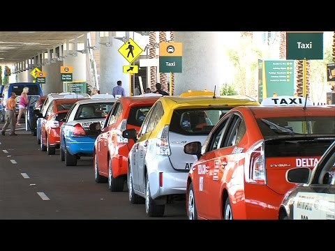 Taxi Drivers Must Pass Smell Test at San Diego Airport