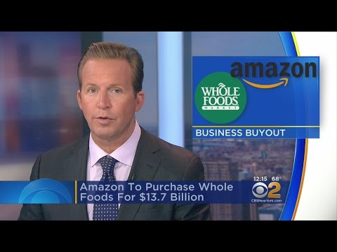 Amazon Aims To Buy Whole Foods