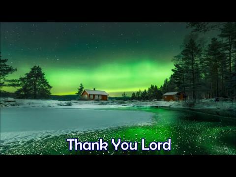 Don Moen   Thank You Lord Instrumental with Lyrics cut