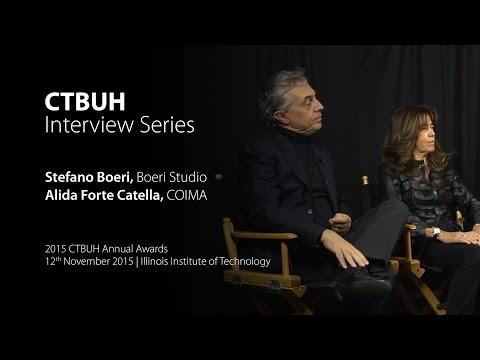 CTBUH Video Interview - Alida Forte Catella & Stefano Boeri