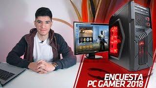 ENCUESTA: PRESUPUESTO para PC GAMER en 2018
