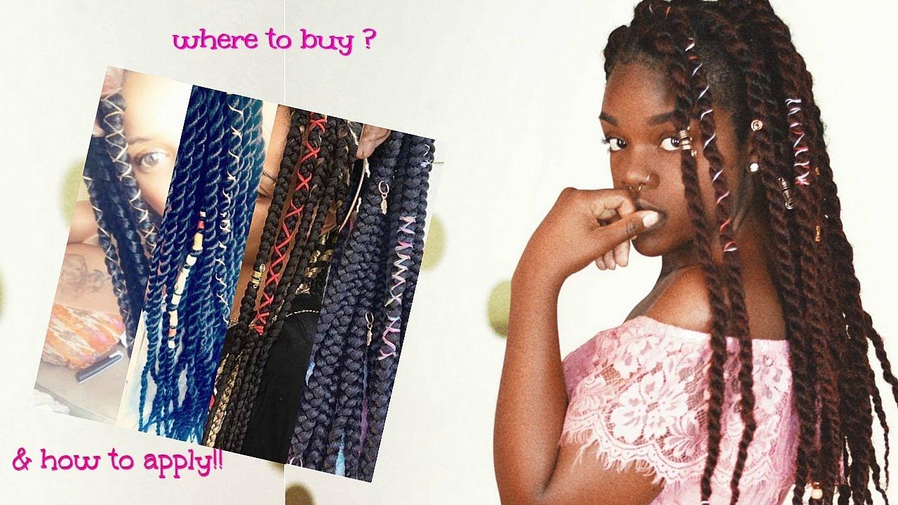 Accessories for braids, locs, twist