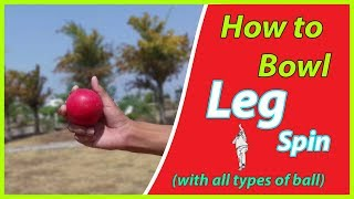 how to bowl leg spin | leg spin bowling | Bowling Techniques | Cricket |