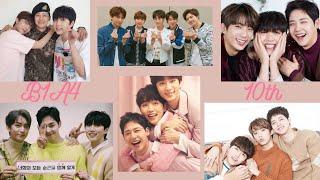 B1A4 10th Anniversary   비원에이포 데뷔 10주년 뮤직비디오 모음