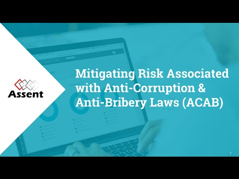 [Webinar] Mitigating Risk Associated with Anti-Corruption & Anti-Bribery Laws