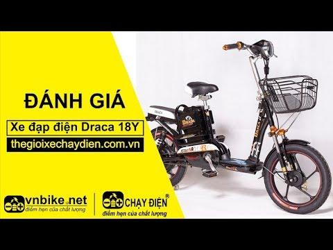 Đánh giá xe đạp điện Draca 18Y