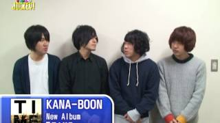 KANA-BOON ○NewAlbum 『TIME』 1/21発売 大阪・堺出身の4人組ロック・バ...
