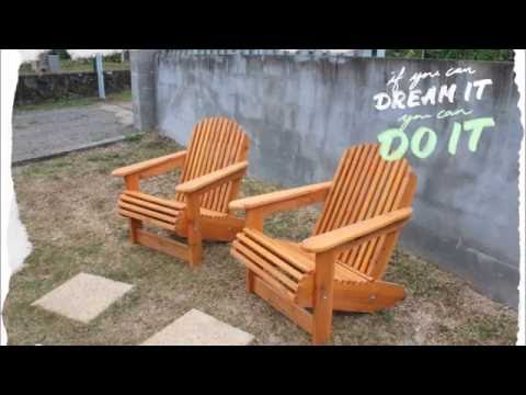 fabrication d 39 un fauteuil adirondack youtube. Black Bedroom Furniture Sets. Home Design Ideas
