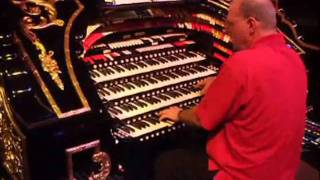 ROLLERrewind ORGAN STOP PIZZA/hands-on!! Johnny Sharp, Organist