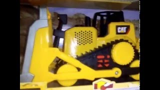 Toy State Caterpillar Construction Job Site Machines test Dump Truck