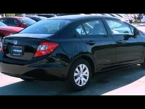 2012 Honda Civic Sdn Corpus Christi TX 78415