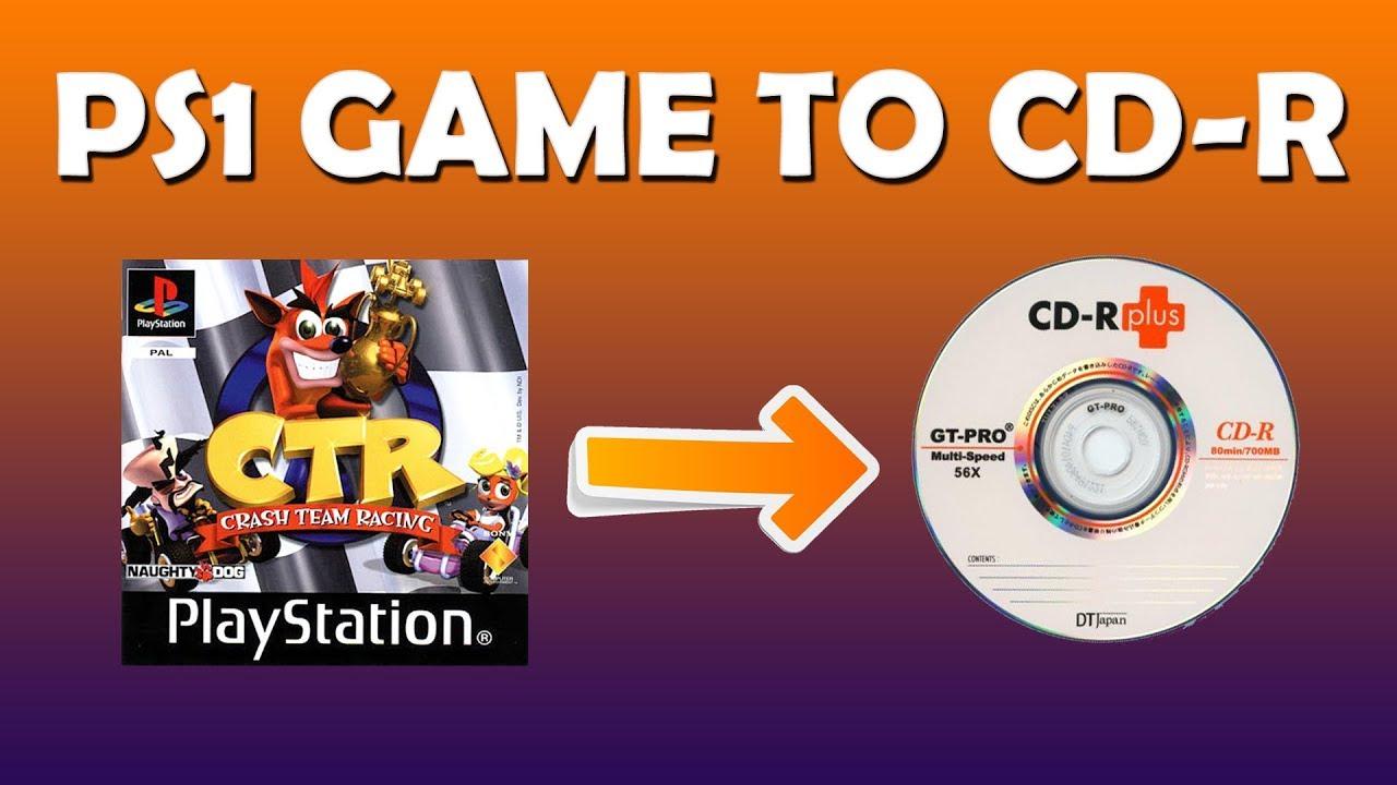 Cara Burning Game PS1 file  ISO atau  BIN/ CUE