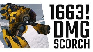 1663 Damage? HOW???? Marauder IIC Hero Scorch! Mechwarrior Online Live Stream Highlight