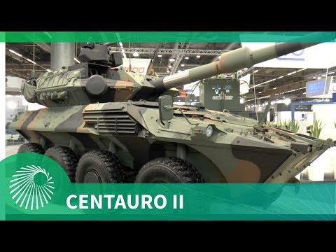 Eurosatory 2018: Centauro II 8x8 wheeled armoured fighting vehicle