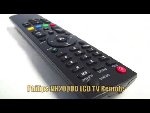 PHILIPS NH200UD LCD TV Remote Control - Www.ReplacementRemotes.com