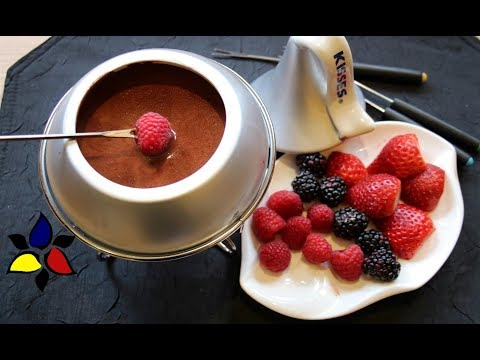 Chocolate Fondue | Keto Chocolate Fondue | Keto Dessert | Sugar Free Chocolate Recipe