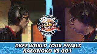 DBFZ World Tour Finals: Kazunoko Vs GO1 (Winners Finals)