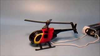 Heli Maßstab 1:87 (H0), Umbau mit Elektromotor