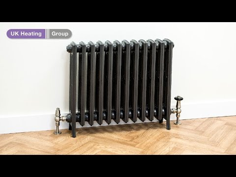 How to join and assemble a sectional cast iron radiator