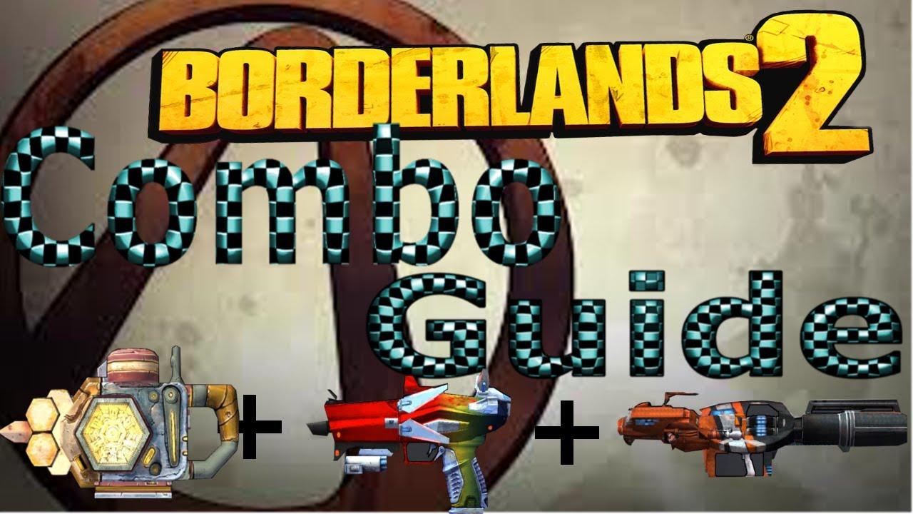 Borderlands 2 Combo Guide! Logan's gun Norfleet and The Sham shield UVHM