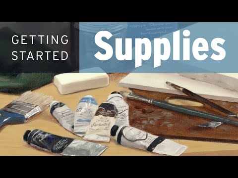 Essential Oil Painting Supplies