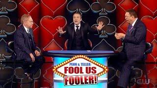 Penn \u0026 Teller Fool Us // Fooled by French Magician Boris Wild // Impossible Card Trick // Season 7